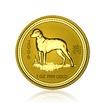 Zlatá investiční mince Australská Lunární Série I. 2006 Pes 31,1 g (1 Oz)