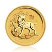 Zlatá investiční mince Australská Lunární Série II. 2018 Pes 62,21 g (2 Oz)