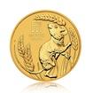 Zlatá investiční mince Australská Lunární Série III. 2020 Myš 31,1 g (1 Oz)