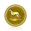 Zlatá investiční mince Australská Lunární Série I. 2006 Pes 62,2 g (2 Oz)