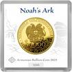 Zlatá investiční mince Archa Noemova 2021 7,78 g (1/4 Oz)