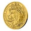 Zlatá uncová investiční mince Český lev 2021 stand 31,1 g (1 Oz)