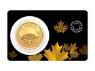 Zlatá investiční mince Klondike Zlatá horečka 2021 31,1 g (1 Oz)