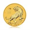 Zlatá investiční mince Australský Lunární rok 2022 Tygr 7,78 g (1/4 Oz)
