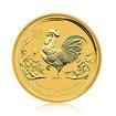 Zlatá investiční mince Australská lunární Série II. 2017 Kohout 311,04 g (10 Oz)