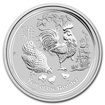 Perth Mint Stříbrná mince Year of the Rooster - Rok Kohouta 1 oz (2017)