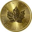 Zlatá investiční mince Maple Leaf 1/2 Oz