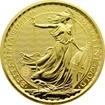 Zlatá investiční mince Britannia 1 Oz