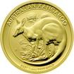 Zlatá investiční mince Kangaroo Klokan 1/4 Oz