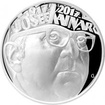Stříbrná mince 200 Kč Josef Kainar 100. výročí narození 2017 Proof