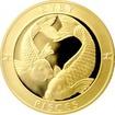 Zlatý dukát Znamení zvěrokruhu - Ryby 2017 Proof