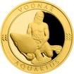 Zlatý dukát Znamení zvěrokruhu s věnováním - Vodnář 2017 Proof