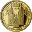 Zlatá mince Doba Jiřího z Poděbrad - Král dvojího lidu 2018 Proof