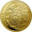 Zlatá investiční mince Niue Taku Hawksbill Turtle - Kareta pravá 1 Oz