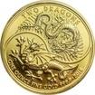 Zlatá investiční mince Dva draci 1 Oz 2018