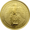 Zlatá investiční mince The Queen´s Beasts The Falcon 1/4 Oz 2019