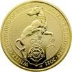 Zlatá investiční mince The Queen´s Beasts The White Greyhound 1 Oz 2021