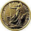 Zlatá investiční mince Britannia 1/4 Oz