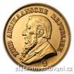 Zlatá mince jihoafrický  Kruger Pond Pond