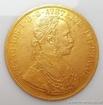 Zlatá mince čtyřdukát Františka Josefa I. -ročníkový 4 dukát