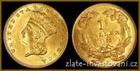 Zlatá mince 1 dollar-Princezna 1 dollar