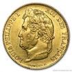 Zlatá mince francouzský 20 Frank- Ludvík Filip I. 20 frank