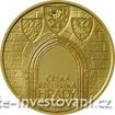 Zlatá mince Hrad Kost 2016-Proof 1/2 Oz