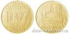 Zlatá mince Hrad Kost 2016 1/2 Oz