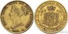 Zlatá mince 40 lira-Marie Louise rakouská -Parma 1821 40 lira