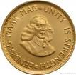 Zlatá mince 2 randy-Jižní Afrika 2 randy