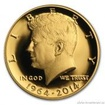 Zlatá mince Half dollar Kennedy 2014-Proof 3/4 Oz