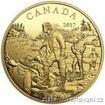 Zlatá mince 200 dolarů -Alexander Mackenzie 2017 1/2 Oz