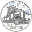 2018 - 10 € - Dušan Samuel Jurkovič – 150. výročie narodenia Ag b.k.