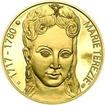 Marie Terezie - 300. výročí narození zlato proof