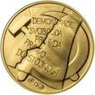 Memento 25. února 1948 - komunistický puč v Československu - 1 Oz zlato b.k.