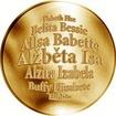 Česká jména - Alžběta - zlatá medaile