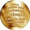 Česká jména - Antonín - zlatá medaile