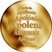 Česká jména - Apolena - zlatá medaile