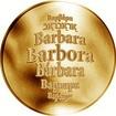 Česká jména - Barbora - zlatá medaile