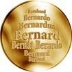 Česká jména - Bernard - zlatá medaile