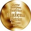 Česká jména - Blažena - zlatá medaile