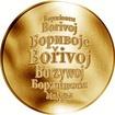 Česká jména - Bořivoj - zlatá medaile
