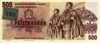 Série 4 ks kolkovaných bankovek 1993