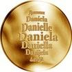 Česká jména - Daniela - zlatá medaile