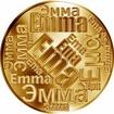 Česká jména - Ema - velká zlatá medaile 1 Oz
