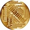 Česká jména - Emanuel - velká zlatá medaile 1 Oz