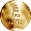 Česká jména - Eva - zlatá medaile