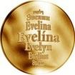 Česká jména - Evelína - zlatá medaile