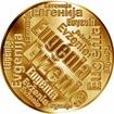 Česká jména - Evženie - velká zlatá medaile 1 Oz