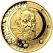 Galileo Galilei - 450. výročí narození zlato proof